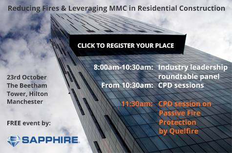 FREE event for construction professionals - REGISTER YOUR PLACE!