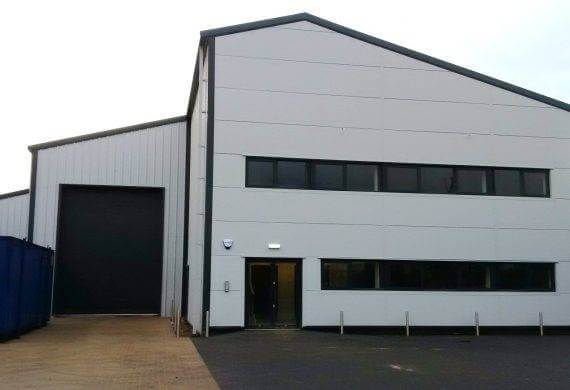 Quelfire's New Factory & Offices in Sandbach
