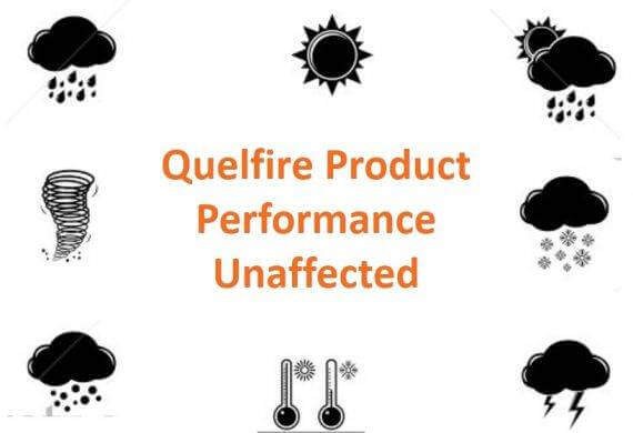 Quelfire Product Performance Unaffected By Weathering