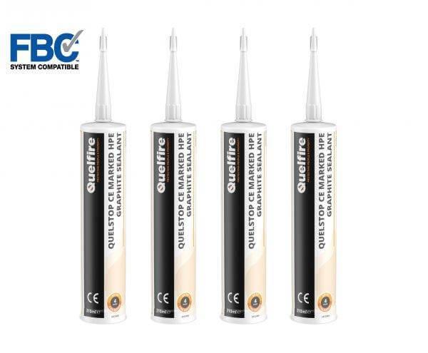 Quelstop HPE Intumescent Graphite Sealant FBC System Compatible