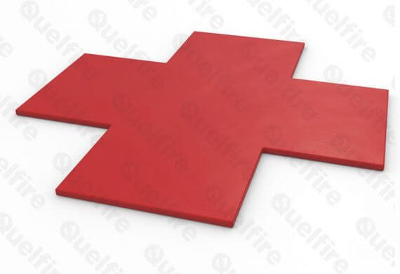 Intumescent Acoustic Putty Pad (single) for electrical socket boxes