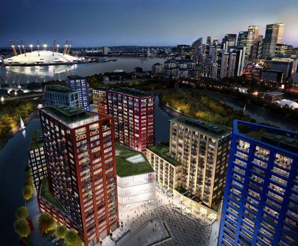Project - London City Island