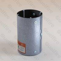 QRS Intumescent Vent Duct Fire Sleeve for semi-rigid plastic vent duct