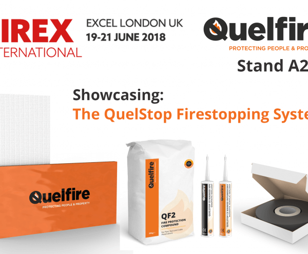 Quelfire is exhibiting at Firex International 2018