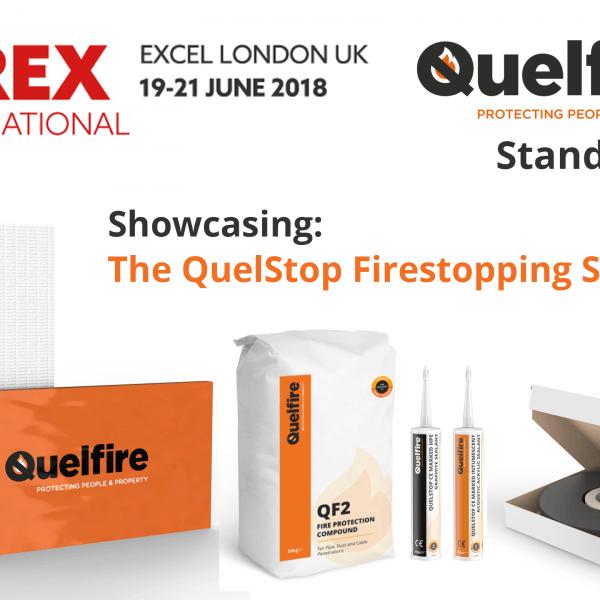 Quelfire is exhibiting at Firex International 2018