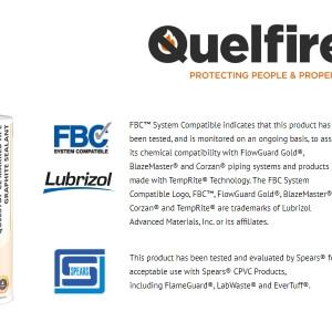 QuelStop HPE Intumescent Graphite Sealant