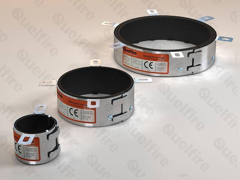 Intumescent Fire Collar for Plastic Pipes | QWR - Quelfire