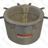 large diameter fire collars