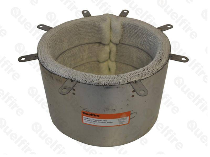 Intumescent Fire Collar for Large Diameter Plastic Pipes